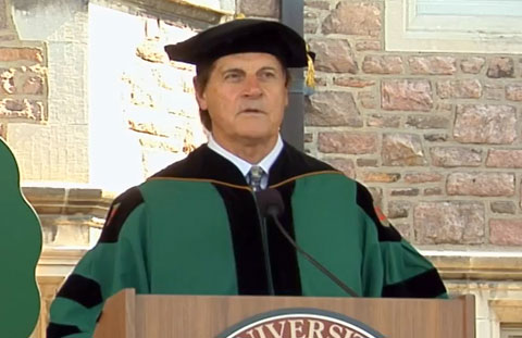 MLB Manager Tony LaRussa Delivers Keynote Speech at