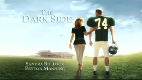 Peyton Manning The Dark Side Spoofs Sandra Bullock S The