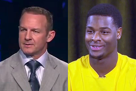 Merril Hoge and LeVeon Bell